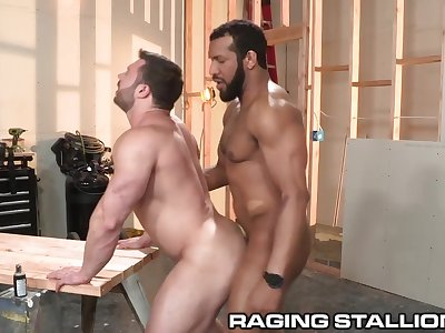 Raw Construction BBC Anal - RagingStallion
