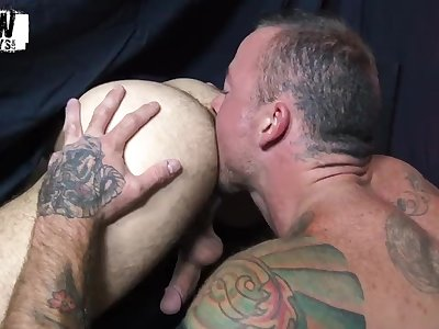 RawFuckBoys - Sean Duran breeds blindfolded jock Riley Ross bareback
