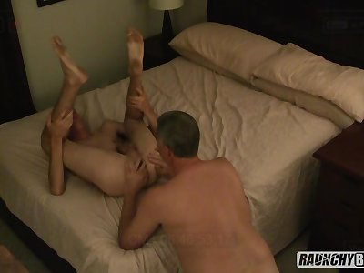 Older Man Picks Up Homeless Teen Takes Him Home And Fucks His Hole Bareback