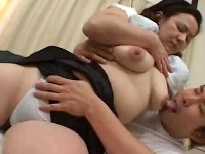 52years old Japanese mature big tits