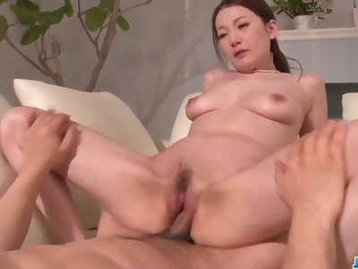 Milf Tsubasa Takanashi deals cock in premium modes - More at 69avs com