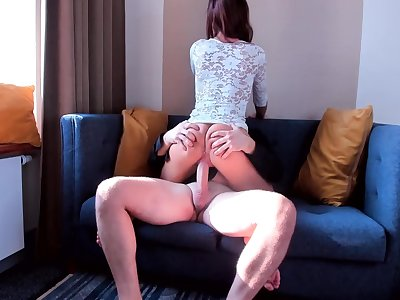 AMATEUR TEEN SLUT RIDE ON MY BIG Manmeat SO FAST