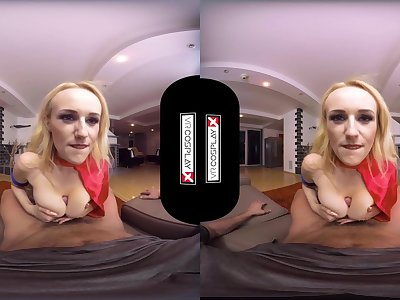 Supergirl POV HUGE TITS Milf Fucked Firm in VR Angel Wicky VRCosplayX com